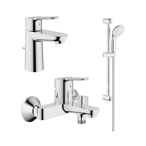 Pachet complet baterii baie Grohe BauEdge