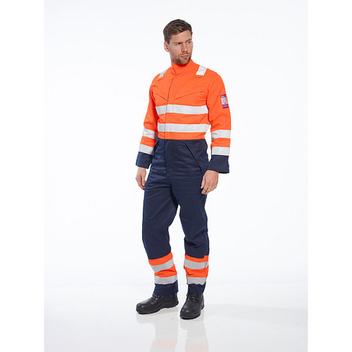 Combinezon Modaflame RIS Navy/Orange PortWest MV29