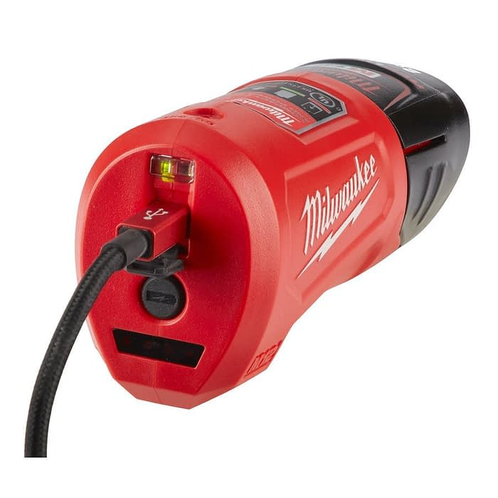Incarcator compact Milwaukee M12 TC 2